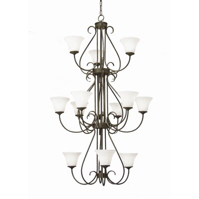 2nd Ave Design Jacqueline 12 Light Chandelier