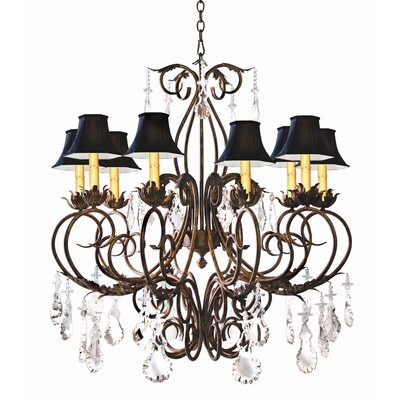 2nd Ave Design Felicia 10 Light Chandelier