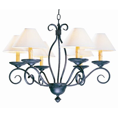 2nd Ave Design Sienna 6 Light Chandelier