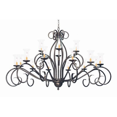 Sienna 18 Light Chandelier