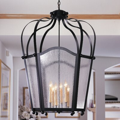 2nd Ave Design Citadel 6 Light Foyer Lantern