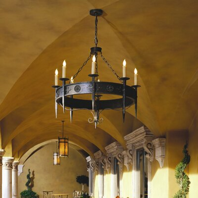 Calandra 8 Light Chandelier