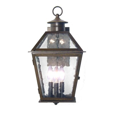 2nd Ave Design Corrina 3 Light Exterior Wall Lantern