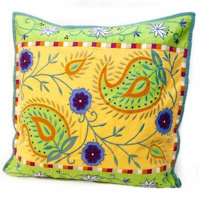 Susan Sargent Spring Paisley Accent Pillow