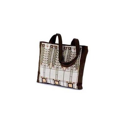 Rennie & Rose Design Group Frank Lloyd Wright Tree of Life Unlined Shoulder Tote Bag (Set of 4)