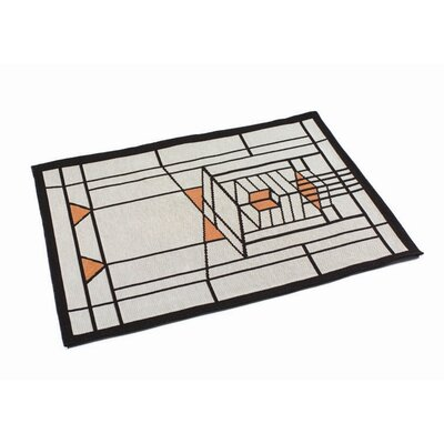 Rennie & Rose Design Group Frank Lloyd Wright ® Robie House Placemat