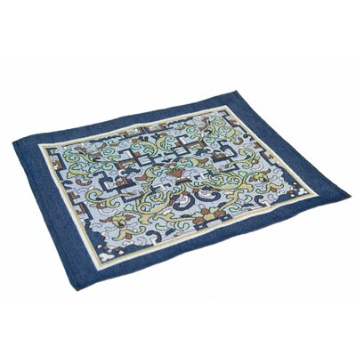 Arts and Crafts Asian Ornament Placemat (Set of 4)
