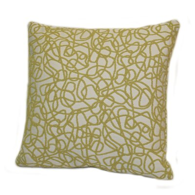 Rennie & Rose Design Group Scribble Polyester Stuffed Pillow