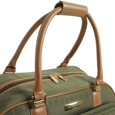"Anne Klein Jungle 20"" Wheeled Duffel"