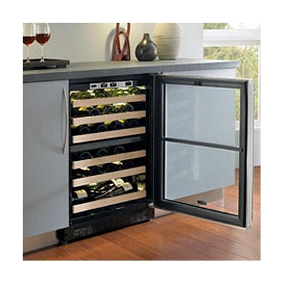 Marvel Appliances Chateau 44-Bottle Dual Zone Wine Refrigerator