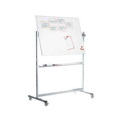 "Peter Pepper Stand Alone Revolving 3'4""  x 6'7"" Whiteboard"
