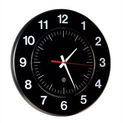 "Peter Pepper Round 14"" Diameter Clock with Acrylic ""Dome"" Cover"