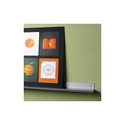 Peter Pepper Envision® Wall Mounted Aluminum Shelf with Lip