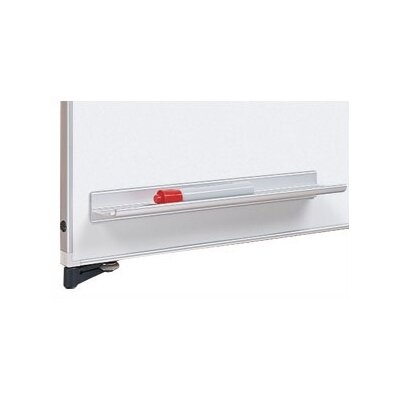 Peter Pepper Tactics® Magnetic Aluminum Pen Rail with 4 Dry-Erase Markers and Eraser