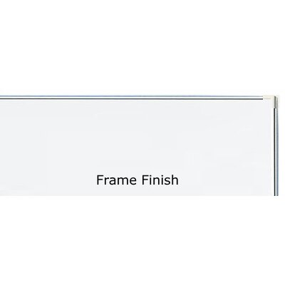"Peter Pepper Tactics Plus® Porcelain Wall Mounted Writing Surfaces 48"" H"