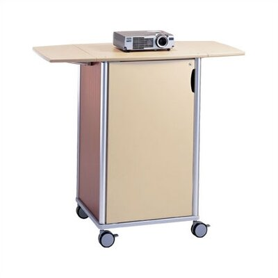 Peter Pepper Wheelies® Projector Cart with Locking Door and Adjustable Shelf