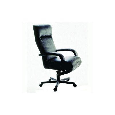 Lafer Kiri Ergonomic High-Back Office Chair with Arms
