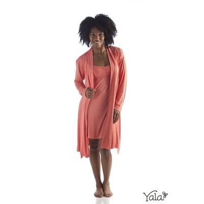 Yala Bamboo Dreams Knit Short Robe