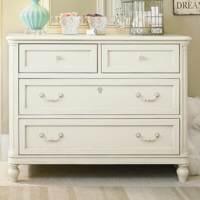 SmartStuff Furniture Gabriella Single 4-Drawer Dresser