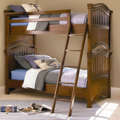 SmartStuff Furniture Classics 4.0 Twin over Twin Bunk Bed with Ladder