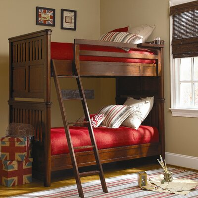 RoughHouse Twin over Twin Bunk Bed with Ladder
