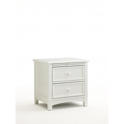 Bonavita Peyton 2 Drawer Nightstand
