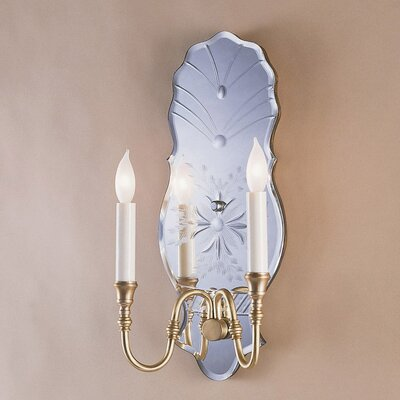 JVI Designs 3 Light Venetian Mirror Wall Sconce