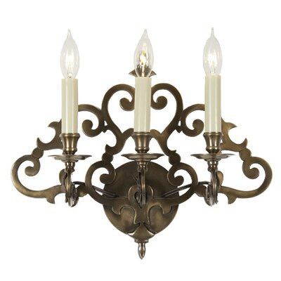 JVI Designs 3 Light Wall Sconce