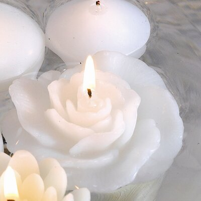 Biedermann and Sons New Rose Floating Candles (Set of 12)