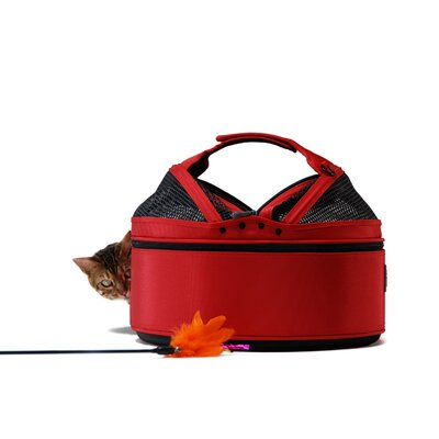 Sleepypod Mobile Pet Bed/Carrier in Strawberry Red