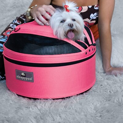 Sleepypod Mobile Pet Bed/Carrier in Blossom Pink