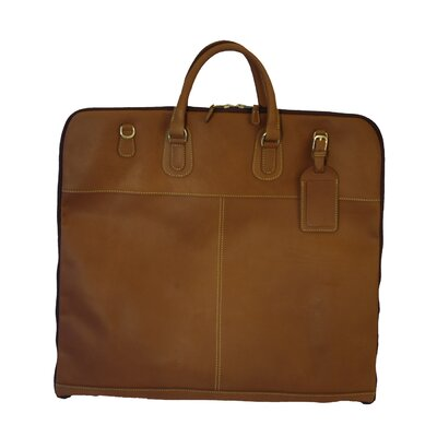 Mulholland Brothers Leather Garment Bag