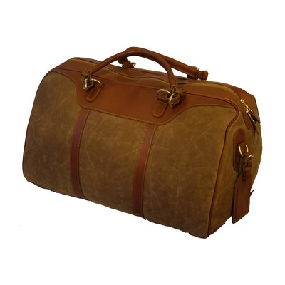 Waxed Canvas Hippo Travel Duffel
