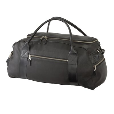 Deerskin Leather Oval Weekener Duffel