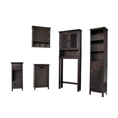 Elegant Home Fashions Savannah 4-Piece Bathroom Set