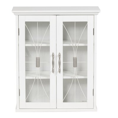 Elegant Home Fashions Mason Wall Cabinet with Two Doors