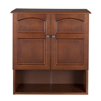 Elegant Home Fashions Martha Wall Cabinet 2 Doors