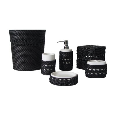 Elegant Home Fashions Sebrina 6 pieces Bathroom Accessory Set