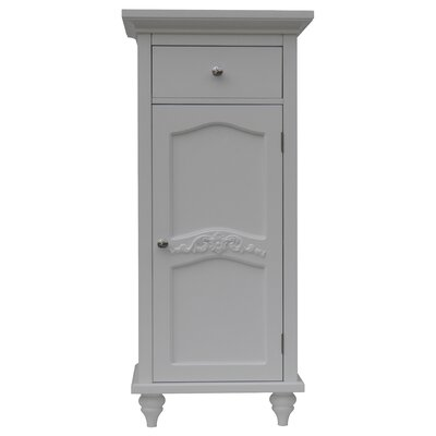 Versailles Floor Cabinet with 1Door and 1 Drawer