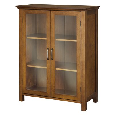 Elegant Home Fashions Avery Floor Cabinet with 2 Doors