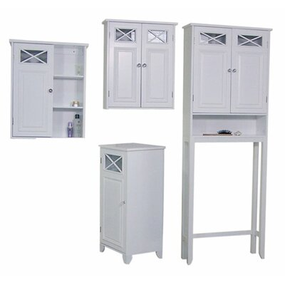 Elegant Home Fashions Dawson 4-Piece Bathroom Set