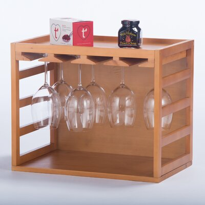 Elegant Home Fashions Wine Glasses Cage