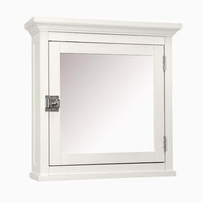 "<strong>Elegant Home Fashions</strong> Madison Avenue 18.25"" x 18.5"" Surface Mount Medicine Cabinet"