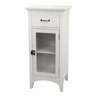 <strong>Elegant Home Fashions</strong> Madison Avenue Floor Cabinet with 1 Door and 1 Drawer