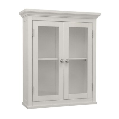 <strong>Elegant Home Fashions</strong> Madison Avenue Wall Cabinet with Two Doors