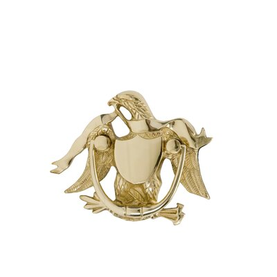 "BRASS Accents 5.875"" Eagle Door Knocker"