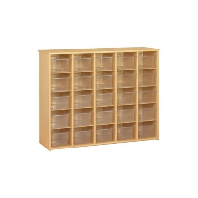 TotMate Eco umbo Sectional 25 Compartment Cubby