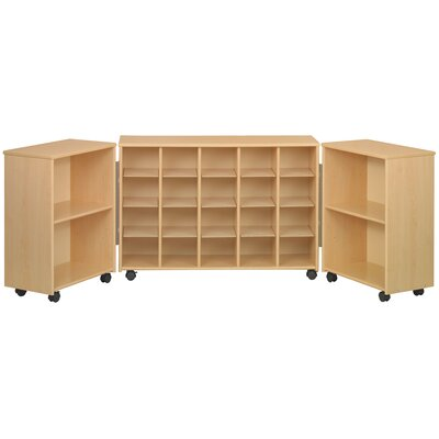 TotMate Eco  Preschool Tri Fold 24 Compartment Cubby