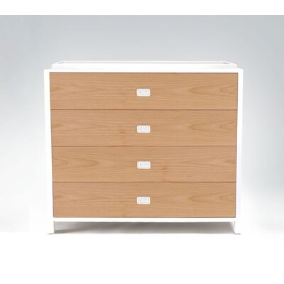 Campaign Four-Drawer Changing Table