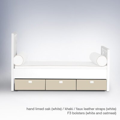 ducduc Campaign Bed with Storage Boxes